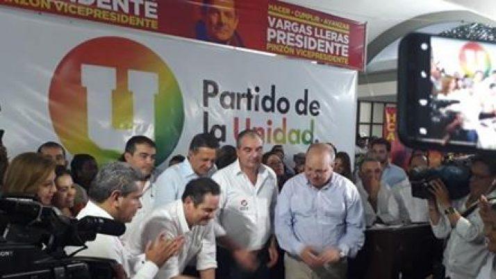 Vargas Lleras trazó con 'la U' la estrategia para pasar a segunda vuelta