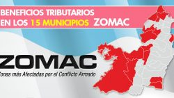 BENEFICIOS TRIBUTARIOS EN LOS 15 MUNICIPIOS ZOMAC
