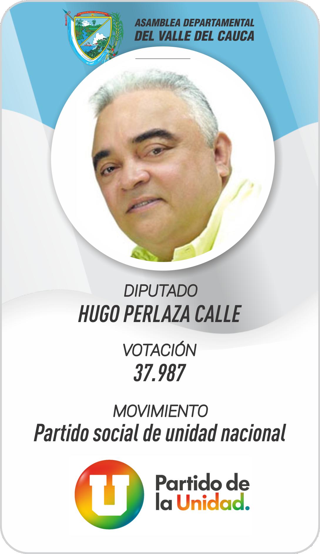HUGO PERLAZA CALLE
